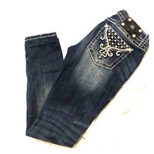 Miss Me signature rise skinny jeans